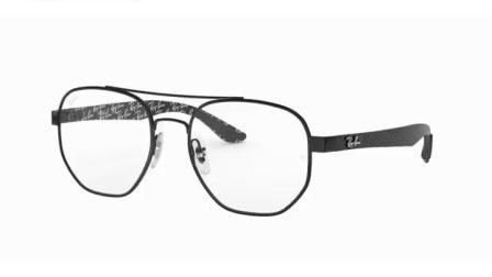 RayBan雷朋光学眼镜架 男女简约近视眼镜框 圆框合金眼镜0RX8418