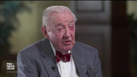 大法官Stevens几个月前发行新书时接受PBS的采访