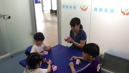 杭州自闭症治疗训练儿童自闭症语言小组课视频杭州昕禾教育