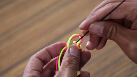 《钓鱼公开课》第52期 如何打双结子线结