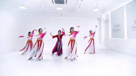 派澜 中国舞《清明上河图》指导老师:朱展凤