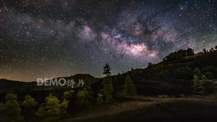 c598 2K高清画质大气蓝天白云流云云海云彩时间流逝辽阔海洋森林夜色星空视频实拍素材
