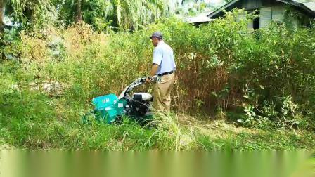 2019年新型割草收拾荒地不用慴3秒破百 方圆杂草夷为平地
