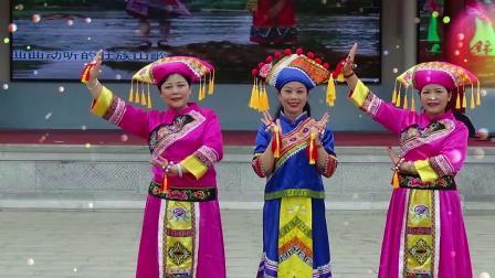 靖西风景美名杨--靖西市忆江南旗袍队赴港演出之彩排节目