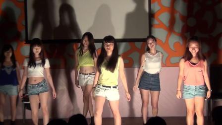 北友第17屆幹訓女舞