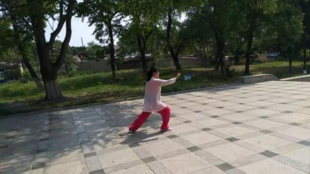 杨氏太极拳13式