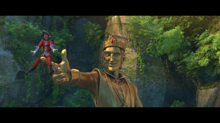 《冰雪女王4:魔镜世界》之空战片段
