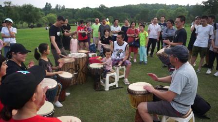 禾岸南京非洲鼓培训中心南京手鼓草地聚会