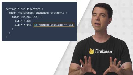 Introduction to Firebase security rules (Firecasts