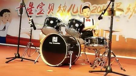 董思迪架子鼓表演