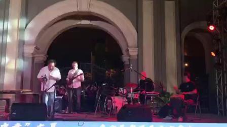禾岸南京非洲鼓乐团——南京手鼓即兴参演意大利爵士乐舞台2