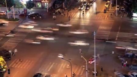 #城市生活家##超级红人节#濮阳街道延时摄影,时间走过的地方。#濮阳# 2濮阳  
