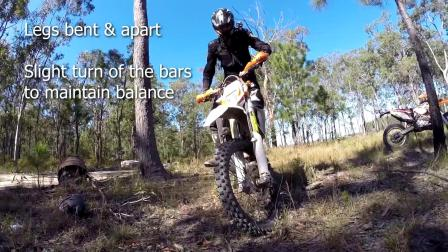 03how to balance dirt bikes at a stand still