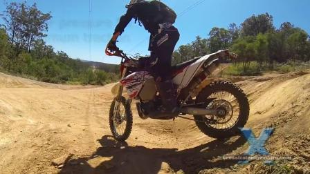 06how to do drops offs & short descents on dirt bikes