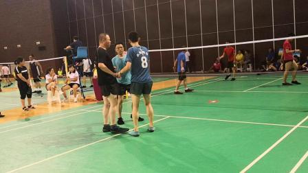 2019中国赤峰东源科技杯全国毽球公开赛平推男子组承德毽球协会争夺第五名比赛2