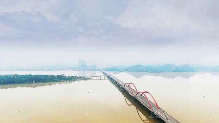 桃源县城  大桥全景图