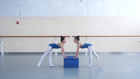 2019少儿舞蹈培训完整教材中级技巧直倒立之分解1 踢后腿
