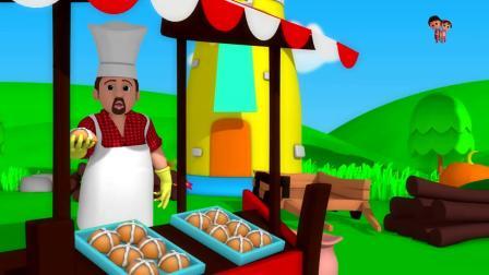 为孩子们拍蛋糕童谣童谣动画片