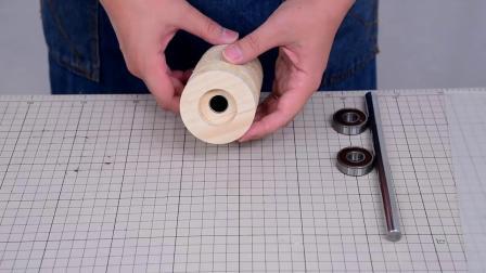 使用洗衣机马达制作砂带机Make a Belt sander @Washing machine motor 【Part.2】
