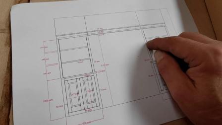 史密斯的壁龛橱柜和架子Smith's Alcove cupboards & shelves Pt1- Shopping for wood