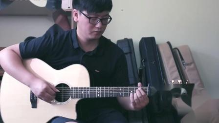 Gavinfly加弗莱G12C弹奏经典的《茉莉花》指弹曲