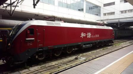 上海站hxd1d往西走