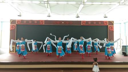 《洗衣歌》内蒙古兴安盟科尔沁右翼前旗科尔沁镇兴科社区快乐广场舞队