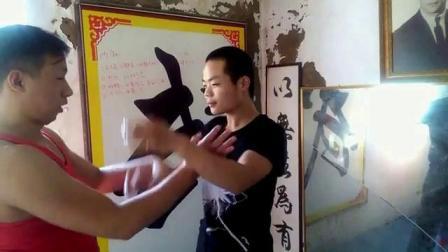 郑州大成咏春拳国术馆黐手示范