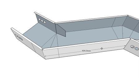 Ti桥架弯头制作与计算教程全套水平弯头水平距离计算