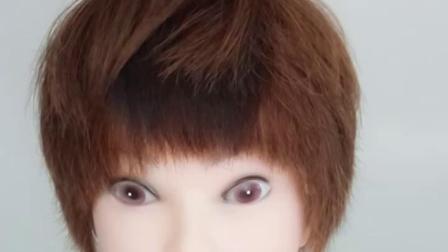短髮假髮片女一片式头顶补发真髮隐形无痕垫发根蓬鬆器头髮内蓬垫