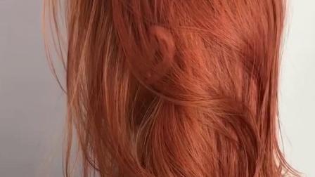 不漂色染髮膏黑茶色蜜茶棕焦糖蓝黑色髒橘色染髮剂2019流行色显白