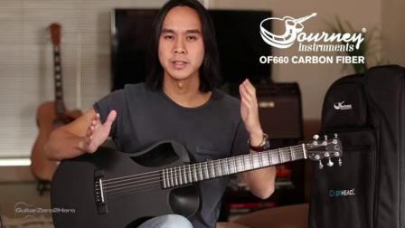 A CARBON FIBER GUITAR THAT SOUNDS GREAT OF660 Journey Instruments Guitar Review
