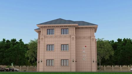 大气的三层欧式别墅设计图 农村自建房效果图展示