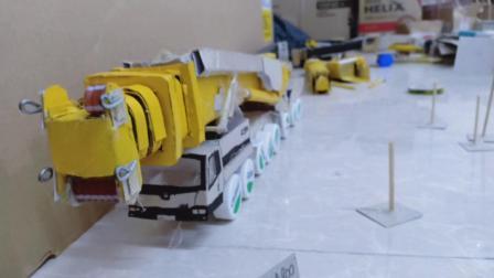 徐工XCA300U汽车起重机模型、徐工QY12B汽车吊模型