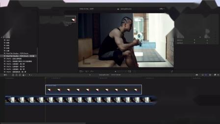 Final Cut Pro X 插件 FCPX Brush 如何添加 Glow 发光光晕效果