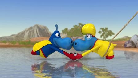 哈普波斯家庭动画片超级和特技儿童动画片野脑动画片