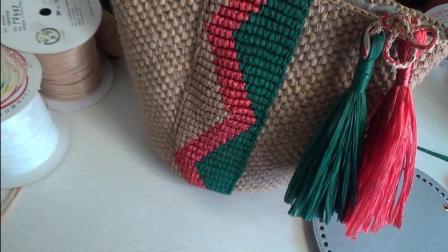 第147集短针覆盖钩法的包带—曲线钩法 许红霞教编织