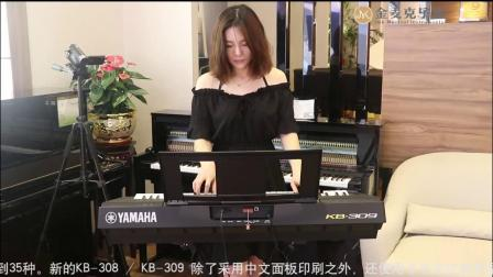 2019新款YAMAHA雅马哈电子琴KB308/309试奏(茉莉花)【金麦克乐器制作】