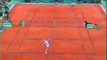 【HL】考瑞尔VS伊万尼塞维奇 1992年法网男单四分之一决赛