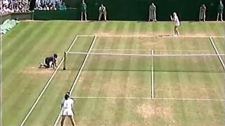 【HL】格拉芙VS桑切斯 1995年温网女单决赛