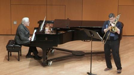 保羅•亨德密特 : 為長號與鋼琴所作的奏鳴曲