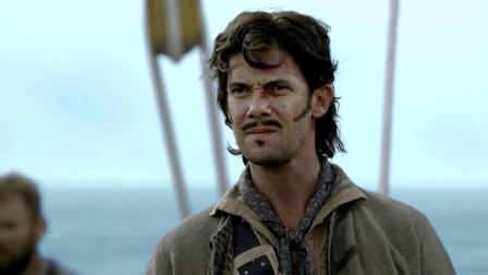 黑胡子爱德华蒂奇中了英国海军圈套被俘,遭受酷刑