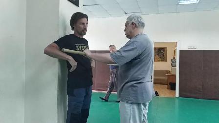 2019 07 13 Systema Ryabko Moscow HQ. Morning training. Accept, take power