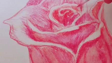 #灵魂画手# 送你一朵小花花 传说画画好的人写字都好看是悖