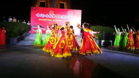 河南省禹州市老干部大学 舞蹈班 展演《我和我的祖国》