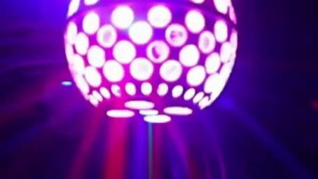 LED灯笼魔球旋转彩灯 七彩声控闪光灯家用KTV包房酒吧激光图案灯