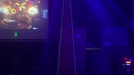 LED声控闪光灯家用 水晶魔球旋转彩灯七彩KTV酒吧雷射灯舞台灯光