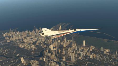 NASA动画模拟展示X-59静音超音速验证机