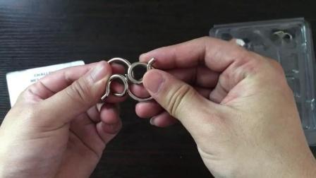 阿Q正传铁环智力扣解环