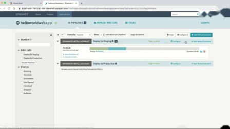 Spinnaker for Google Cloud Platform lightning demo